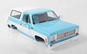 RC4WD Chevrolet Blazer Hard Body Complete Set (Light Blue)