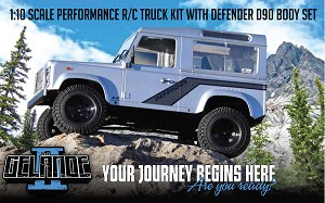 RC4WD Gelande II Truck Kit w/D90 Body Set