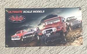 RC4WD 1/10 Scale Trail Banner (L)