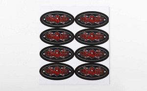 RC4WD Logo Decal Sheets (1'')