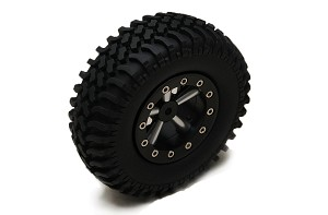 "Mud Thrashers Single 1.9"" Scale Tire"