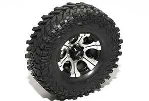 "RC4WD Mickey Thompson 1.9"" Single Baja Claw 4.19"" Scale Tire"
