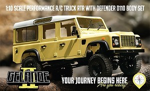 "RC4WD Gelande II ""LWB"" RTR w/D110 Body Set"