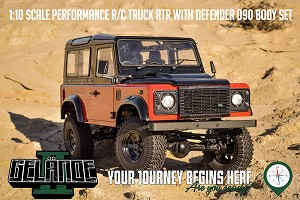 RC4WD Gelande II RTR W/ 2015 Land Rover Defender D90 Body Set (Autobiography Limited Edition)