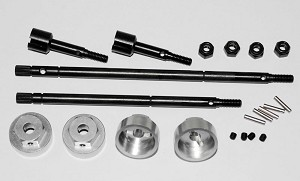 12mm Hex conversion kit for Tamiya Bruiser 2012