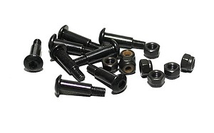 Leaf Spring Shoulder Screws (Black)