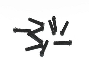 RC4WD Miniature Scale Hex Bolts  (M2 x 10mm) (Black)