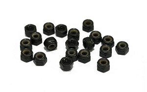Nylock Nuts M3 (Black)
