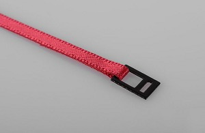 Red Tie Down Strap with Metal Latch