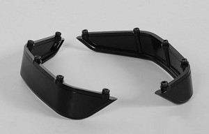 Aluminum Tube Rear Fender for Axial Jeep Rubicon (Black)