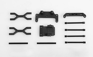 XL Blade Snow Plow Mounting kit for Traxxas Revo/Summit