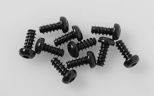 Button Head Self Tapping Screws M2.5 X 6mm (Black)