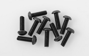 Button Head Cap Screws M2.5 x 8mm