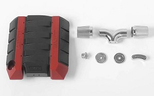 RC4WD V8 Engine Cover with Metal Intake Set for R3 Transmission