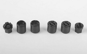 RC4WD 1/18 Scale Warn Front and Rear Hubs