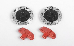 RC4WD Baer Brake Systems Rotors and Caliper Set for Traxxas UDR