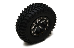 "Mud Thrashers 1.9"" Scale Tires"