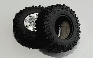 "RC4WD Mickey Thompson Baja Claw TTC 1.0"" Micro Crawler Tires"