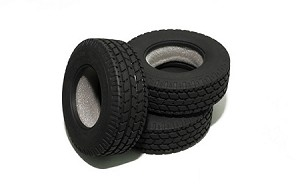 "Roady Super Wide 1.7"" Commercial 1/14 Semi Truck Tires"