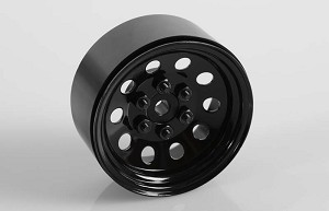 "Pro10 1.9"" Steel Stamped Beadlock Wheel (Black)"
