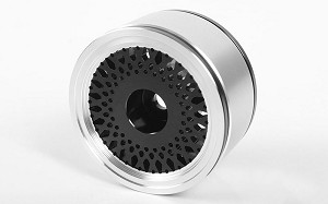 "Black Mesh 1.55"" Beadlock Wheels"