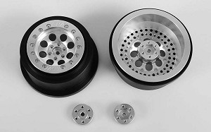 "RC4WD Mickey Thompson Classic Lock 2.2""/3.0"" Short Course Beadlock Wheels"