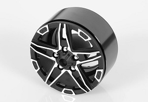 "Bombshell 1.9"" Beadlock Wheels (Black)"