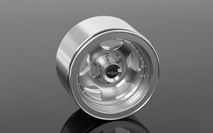 "Breaker 1.9"" Beadlock Wheels (Silver)"